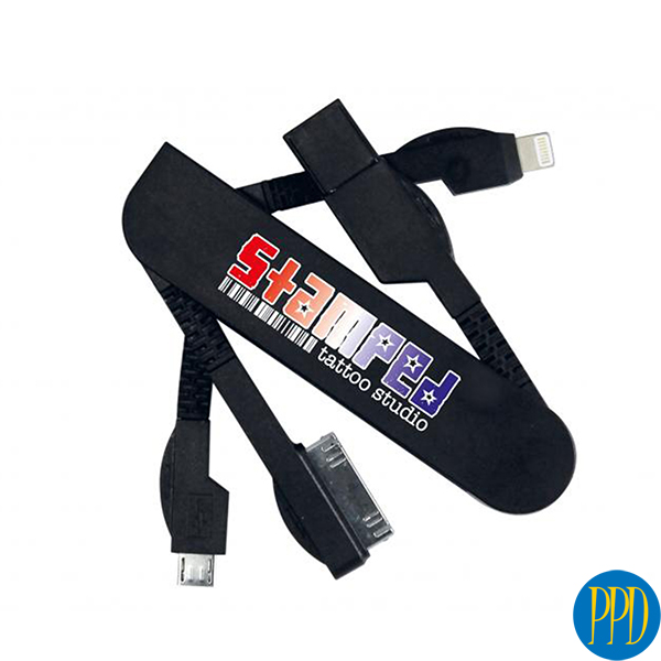 custom data cables with business logo for New York and New Jersey business and promotional product marketers.